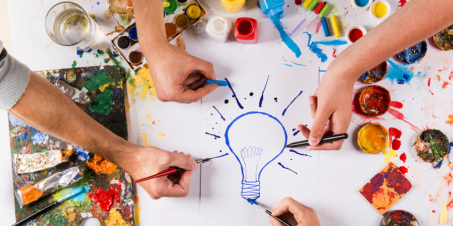 Обретение целостности личности через самовыражение творчеством