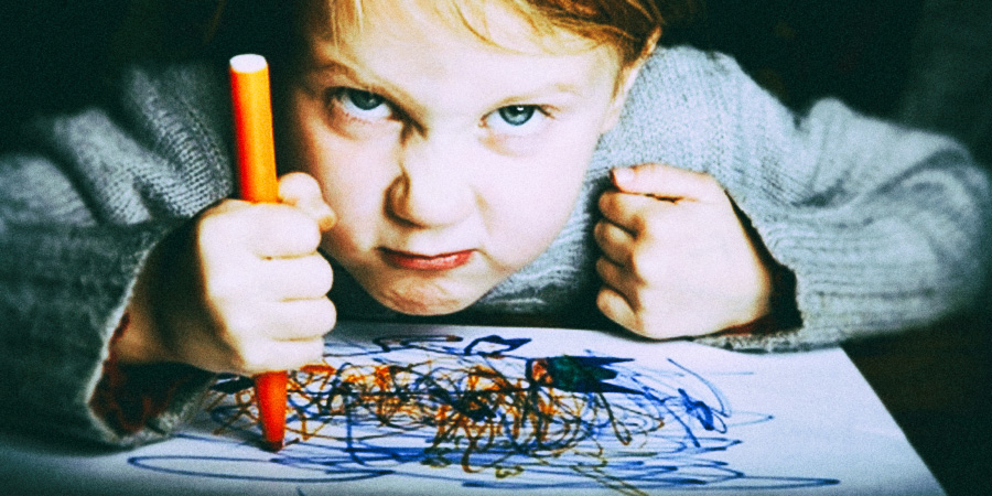 Психология. Отказ ребёнка от рисования. Причины и методы решения