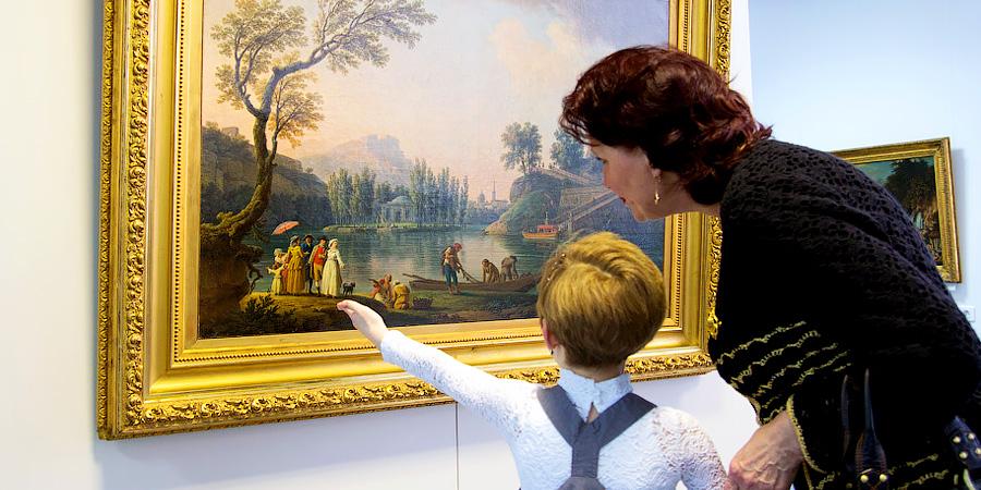 Дети в галереях. Как приобщить ребёнка к посещению выставок