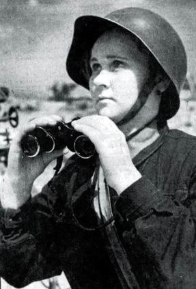 Зенитчицы Сталинграда