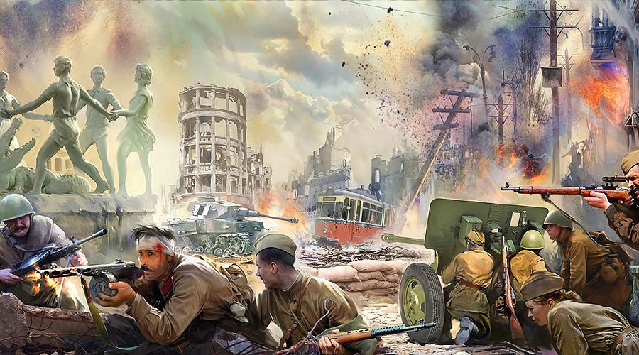 2 февраля 1943 года. Сталинград