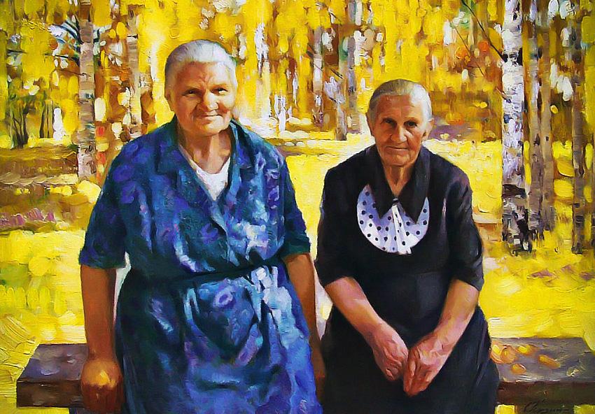 Бабушки послевоенного времени (нашим бабушкам посвящается)