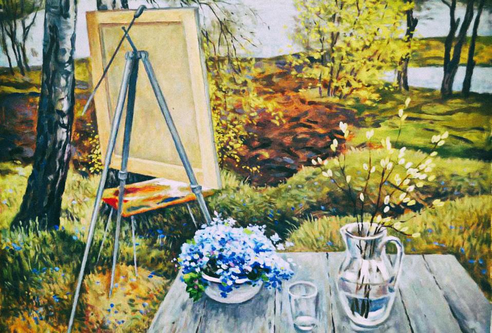 Профессионалы и любители. Что считать профессиональной живописью?