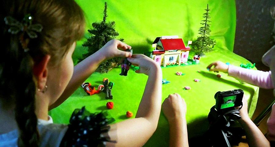 Пиксиляция. Как создать мультфильм вместе с ребёнком